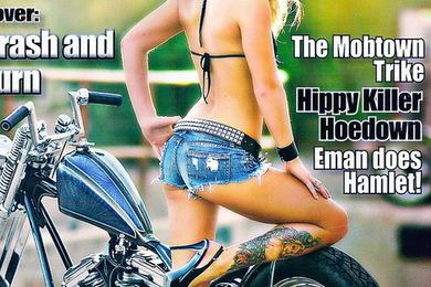 The Horse Backstreet Choppers Magazine #99 2010 june Stephanie Pietz