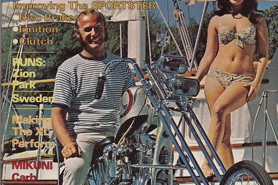 STREET CHOPPER january 1972 Special Sportster Issue