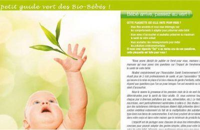 Un guide vert pour de bio bébés