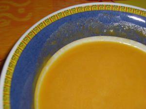 Velouté fenouil - courge
