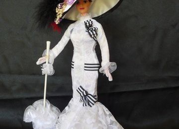 barbie, Eliza Doolitlle from My Fair Lady at Ascot, 1996