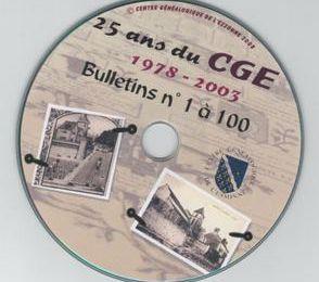 Vingt cinq ans sur un disque