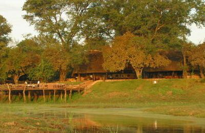 Kafunta lodge, Parc South Luangwa en Zambie