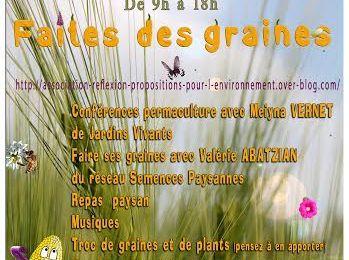 faites des graines dimanche 18 mai 2014 à la ferme des Clarines
