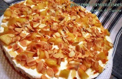 Genoise Mascarpone Pommes Caramelisees