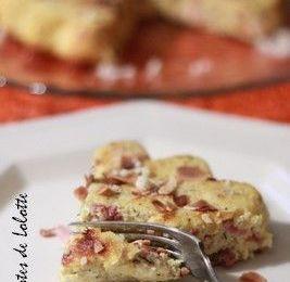 Fiadone (sans pâte) à la butternut, petits lardons aux parfums du Sud