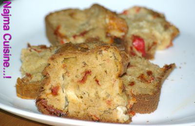 CAKE AUX TOMATES SECHEES