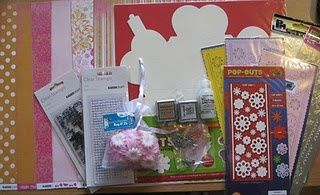grand blog Candy scrap chez Yvonne