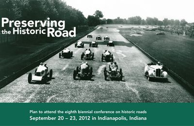 Preserving the Historic Road 2012 - Indianapolis USA