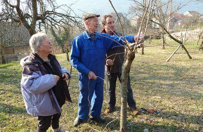 Vèbre Chemins Faisant - 12 février 2011 - Atelier Greffes et Taille des Arbres