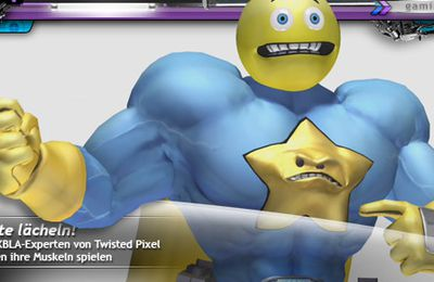 Comic Jumper: The Adventures of Captain Smiley (XBLA)