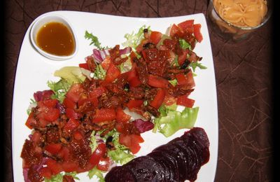 SALADE ROUGE