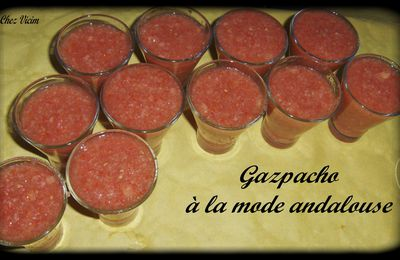 GASPACHO A LA MODE ANDALOUSE