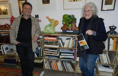 Exposition d'Armel Giraudet et de Thomas de La Pinta aux Ateliers du Possible