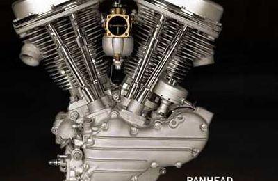 Le Panhead Harley-Davidson...