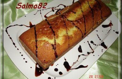 Cake de pistaches et pépites de chocolat