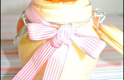 Orange curd ( crème à l'orange)