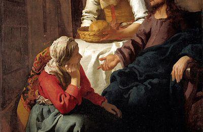 Jn 11, 19-27 Sainte Marthe, disciple du Christ, soeur de Lazare