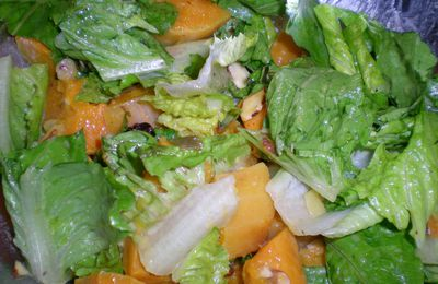 Ina's Roasted Butternut Squash Salad