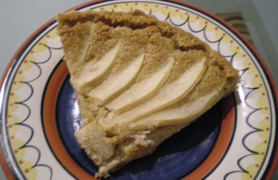 Tart with pears and almonds