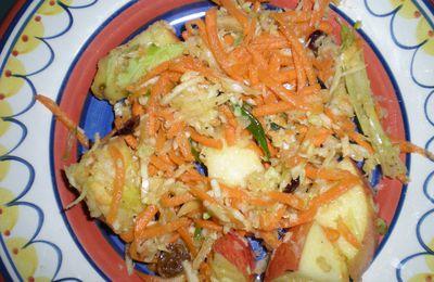 Salade de chou toute garnie
