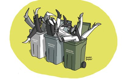 Le grand tri des ordures