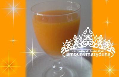 Jus aux abricots orange pour plus que 4 litres