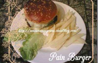 Le pains burger ultra leger