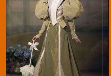 4156 Patron pour costume fin 19e siècle