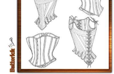 4254 Patron pour soutiens et corsets