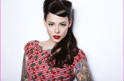 Pin Up hairstyles : quelques inspirations pour le printemps...