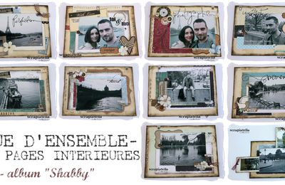 "Mini-album ""Shabby"""