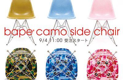 Bape Camo Chair x Modernica
