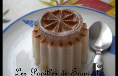 Recette de lait gélifié écrémé aux épices à pain d'épices