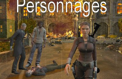 Personnages Tomb Raider Underword