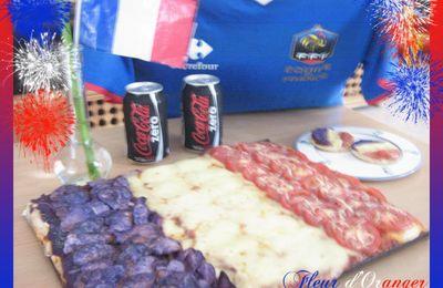 Pizza (recette en image) coupe du monde Fifa 2010