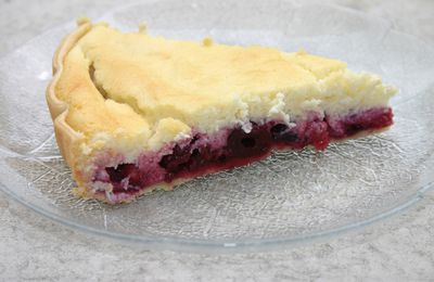 Tarte à la ricotta aux fruits rouges de cojocano