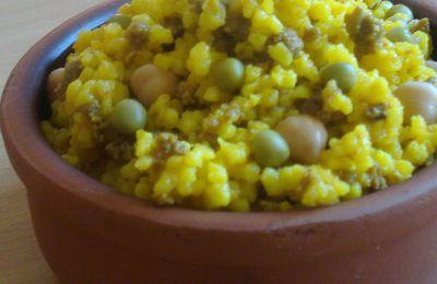 Boulgour aux légumes safran/cumin