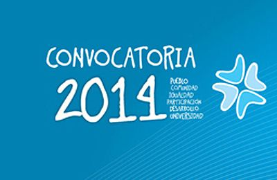 Convocatoria 2014 de Voluntariado Universitario