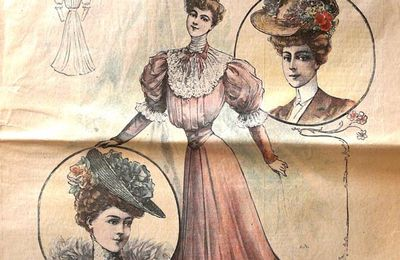 Journal La mode Nationale - 1905