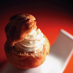 Choux à la chantilly passion