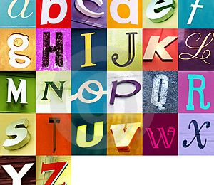 THE ALPHABET (year 7)