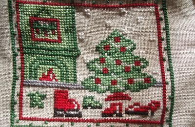 SAL Coussin de Noël (1)