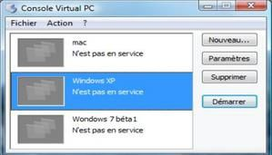 Utilisation de Windows en Virtuel ( 1° partie ).