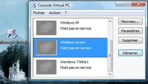 Utilisation de Windows en Virtuel ( 2° partie )