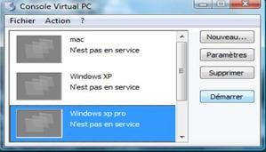 Utilisation de Windows en Virtuel ( 3° partie )