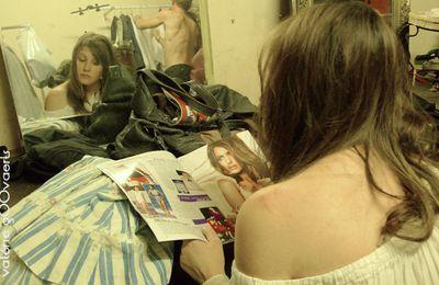 Jeanne en miroir