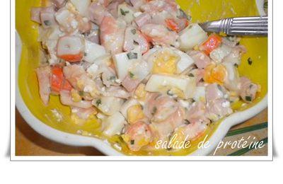 Salade de protéine