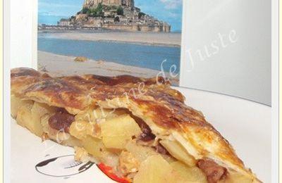 Galette des Rois pommes/caramel beurre salé/pékan