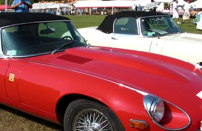 VIDEO VOITURES SPORTIVES ANGLAISES DE COLLECTION - ROQUEBRUNE MOTORS SHOW (83) - AOUT 2009